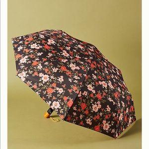 Anthropologie flowered umbrella
